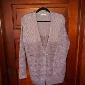 Hinge NWOT Wool Blend Cardigan
